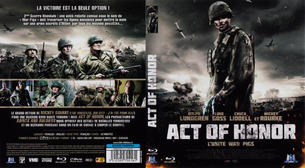 Act of honor blu-ray