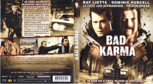 Bad karma blu-ray