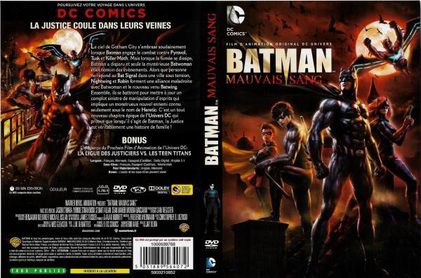Batman mauvais sang