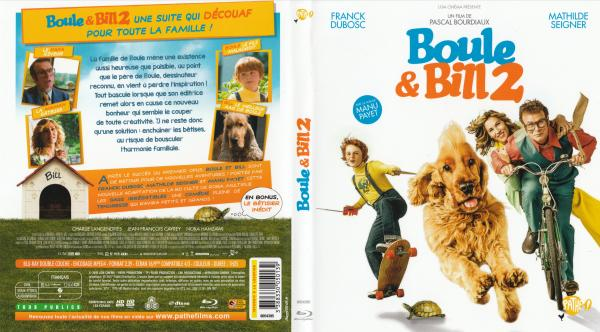 Boule et Bill 2 blu-ray