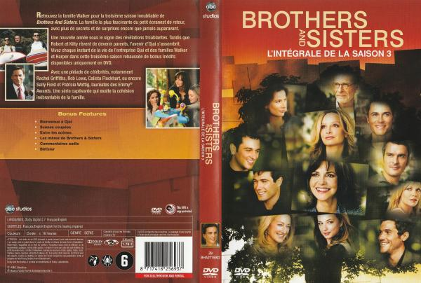 Brothers and sisters saison 3