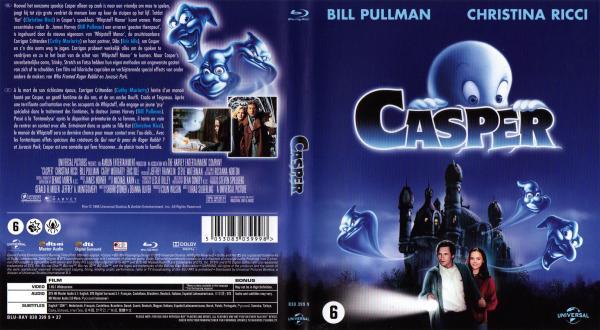 Casper blu-ray
