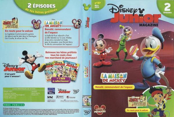 Disney junior magazine n 27