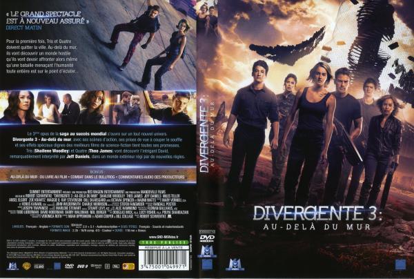 Divergente 3 au-dela du mur