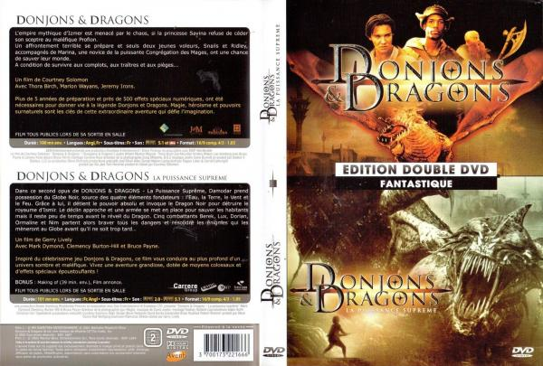Donjons et dragons 1 et 2