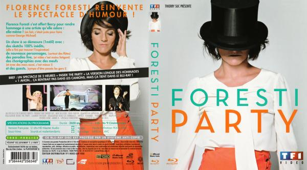 Foresti party blu-ray