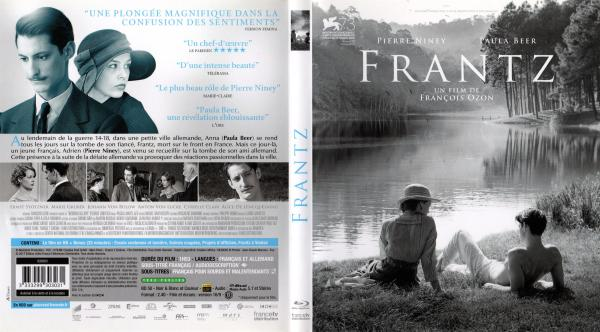Frantz (2016) blu-ray