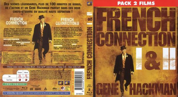 French connection 1 et 2 blu-ray