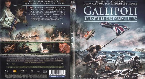 Gallipoli la bataille des dardanelles (blu-ray)