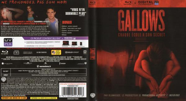 Gallows blu-ray