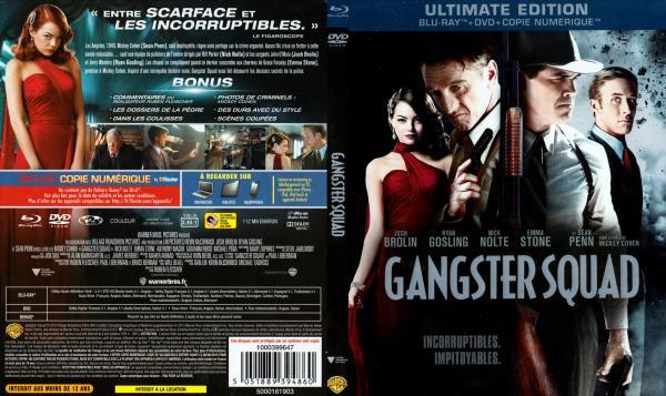 Gangster squad blu-ray v2