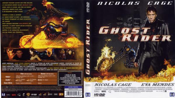 Ghost rider hd dvd