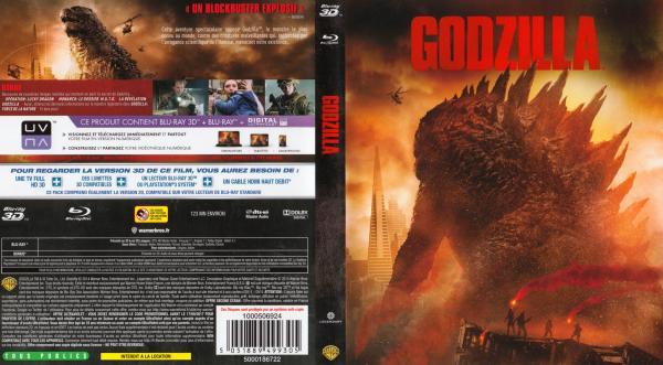 Godzilla (2014) 3D blu-ray