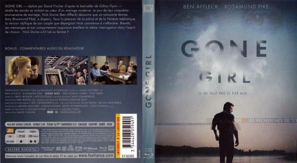 Gone girl (blu-ray) v2