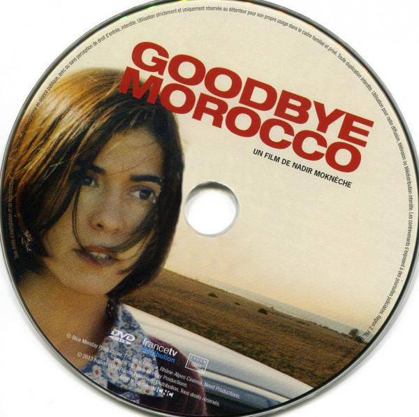 Goodbye morocco sticker