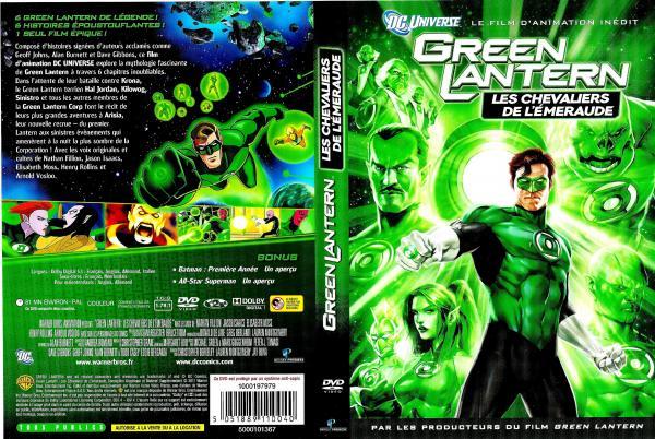 Green lantern les chevaliers de l'emeraude