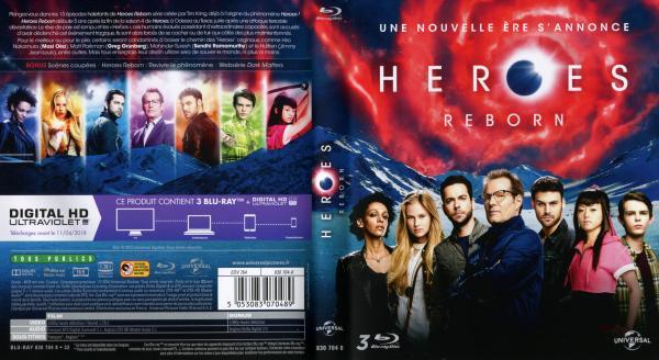 Heroes reborn saison 1 blu-ray