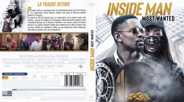 Inside man most wanted (blu-ray)