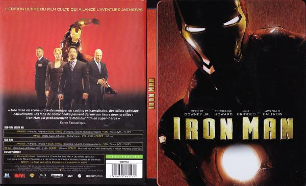 Iron man (blu-ray) v2