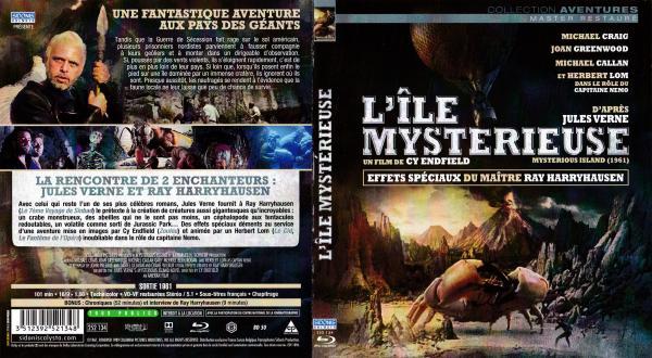 L ile mysterieuse (1961) (blu-ray)