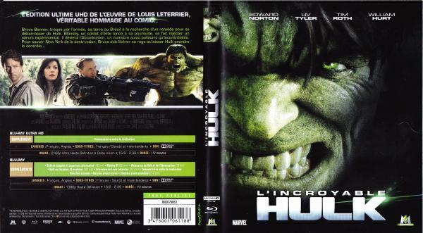 L'incroyable hulk (2008) (blu-ray) v4