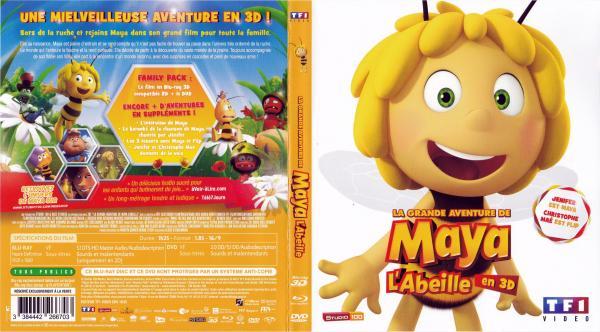 La grande aventure de maya l'abeille (blu-ray)
