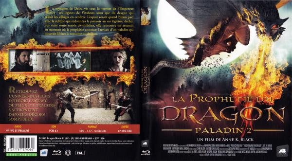 La prophetie du dragon paladin 2 (blu-ray)