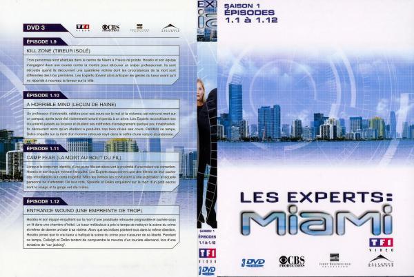 Les experts Miami saison 1 vol 3