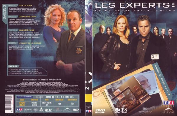 Les experts saison 3 vol 1 v2