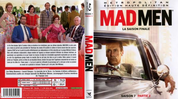 Mad men saison 7 partie 2 blu-ray