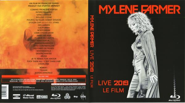 Mylene farmer live 2019 (blu-ray)