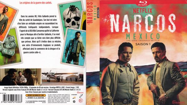 Narcos mexico saison 1 (blu-ray)