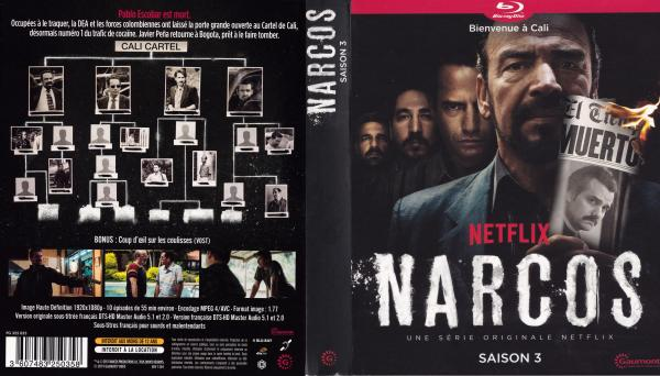 Narcos saison 3 (blu-ray)