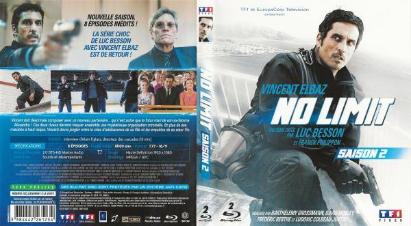 No limit saison 2 blu-ray