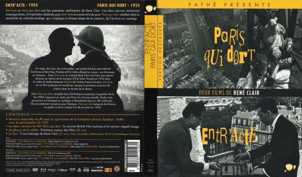 Paris qui dort - Entr acte blu-ray