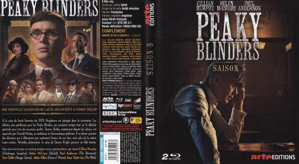Peaky blinders saison 5 (blu-ray)