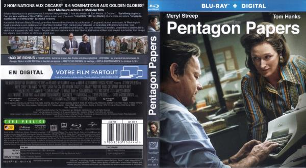 Pentagon papers (blu-ray) v2