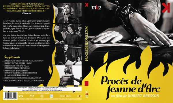 Proces de jeanne d'arc (blu-ray)