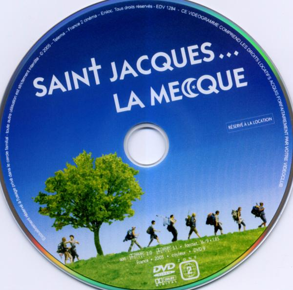 Saint jacques la mecque sticker