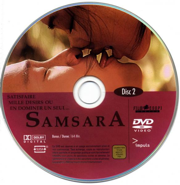 Samsara dvd 2 sticker