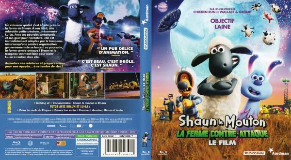 Shaun le mouton la ferme contre attaque (blu-ray)