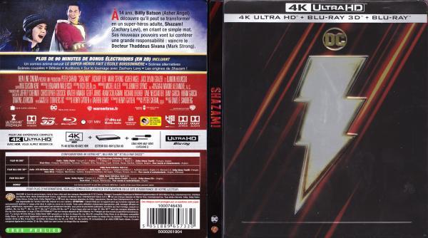Shazam 4k (blu-ray)