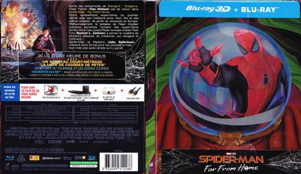 Spider-man far from home (blu-ray) v2
