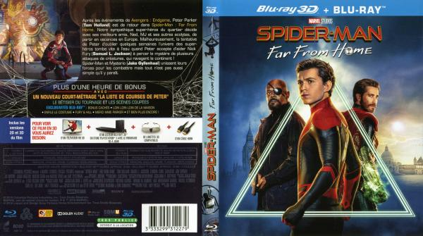 Spider-man far from home 3d (blu-ray)