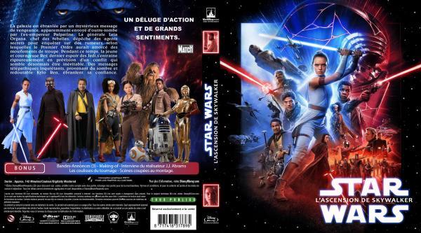 Star wars l'ascension de skywalker (blu-ray) v2