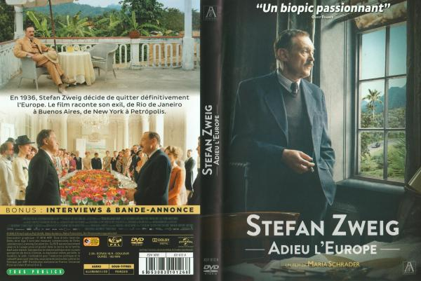 "Stefan zweig adieu l""europe"