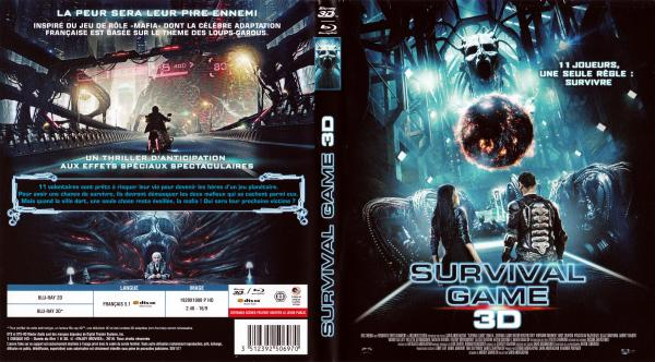 Survival game 3D (blu-ray)