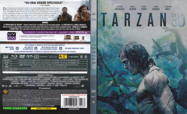 Tarzan (2016) 3D (blu-ray)