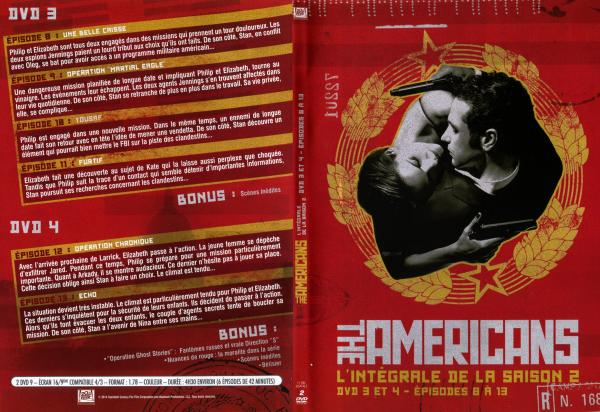 The americans saison 2 dvd 3 slim