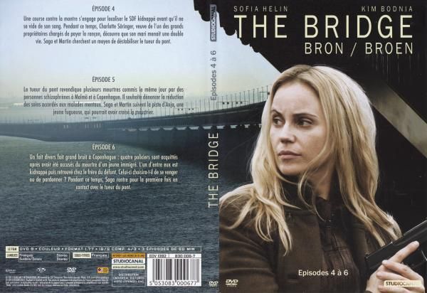 The bridge saison 1 dvd 2 slim